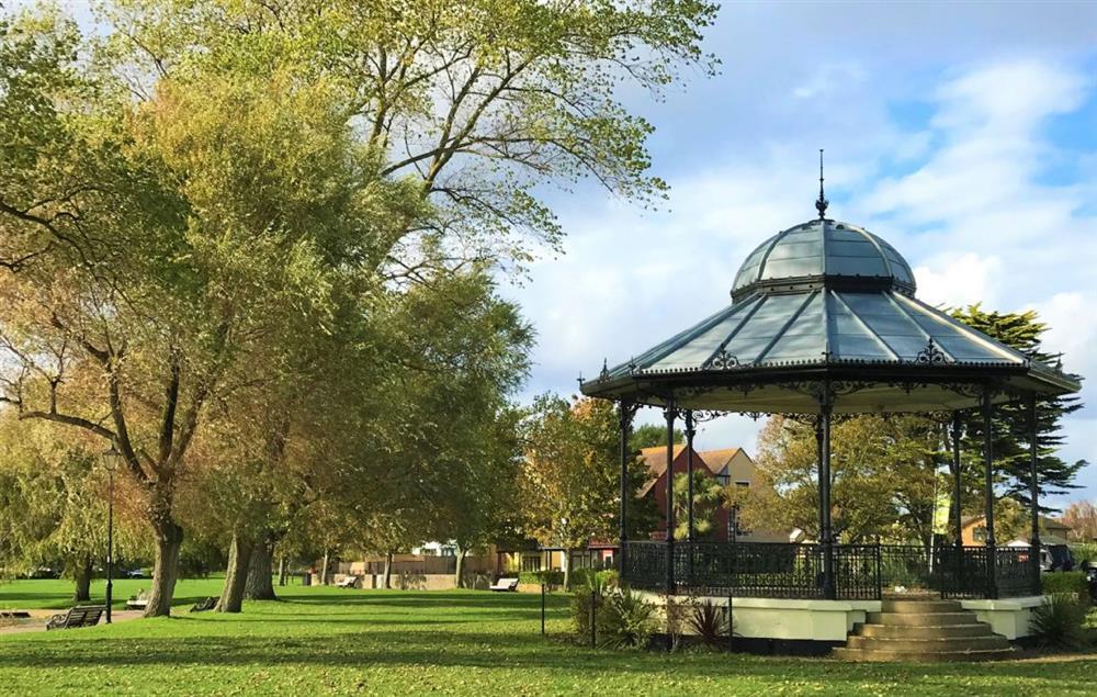 Christchurch bandstand