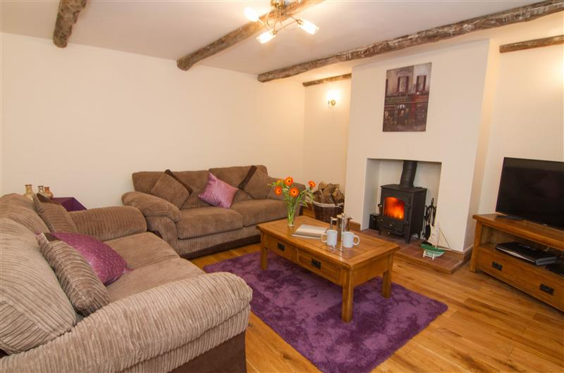 Living room at Quay Cottage, Wells-next-the-Sea, Norfolk