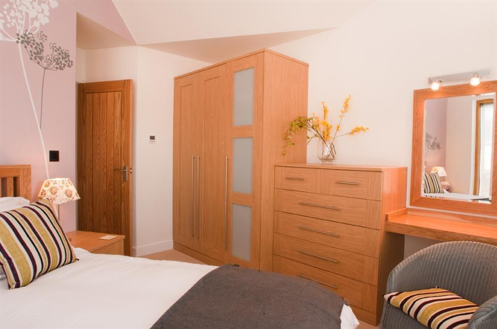 Master bedroom at Quay Lodge in 60 Sandquay Road, Dartmouth