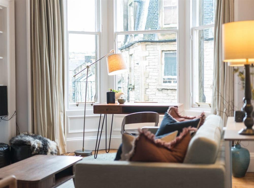 Living room at Raeburn Place in Edinburgh, Midlothian