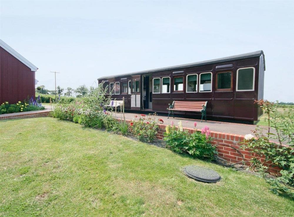 Exterior at Railway Carriage One in Stowmarket, Suffolk