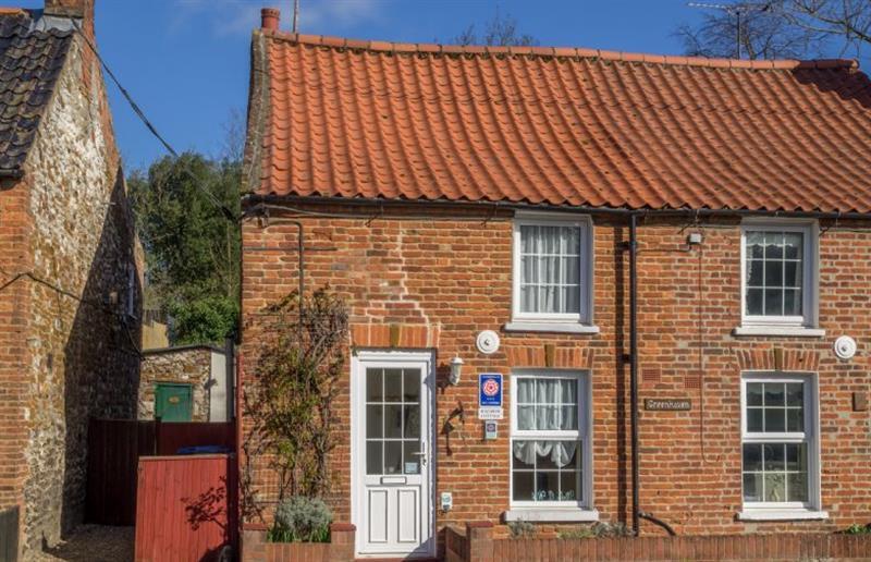 Outside Rainbow Cottage at Rainbow Cottage, Sedgeford near Hunstanton, Norfolk