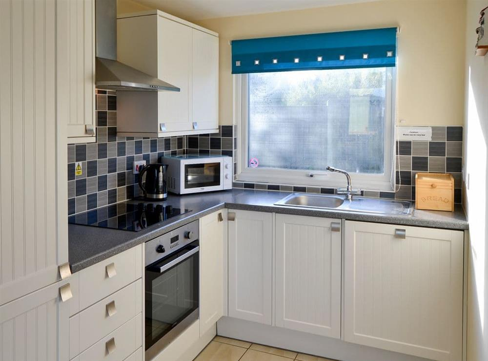 Fitted kitchen area at Beach Therapy,