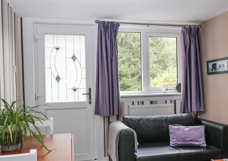 Enjoy the living room at Ramblers Rest, Minnigaff near Newton Stewart in Wigtownshire