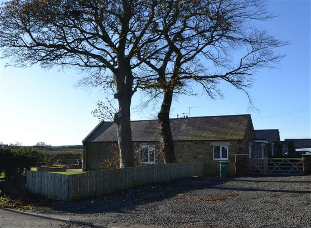 Lovely holiday bungalow set back from the road