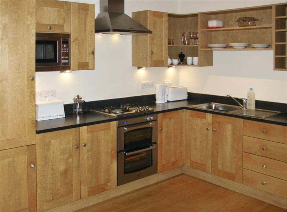 Kitchen at Red House Farm Cottage in Whitegate, Cheshire., Great Britain