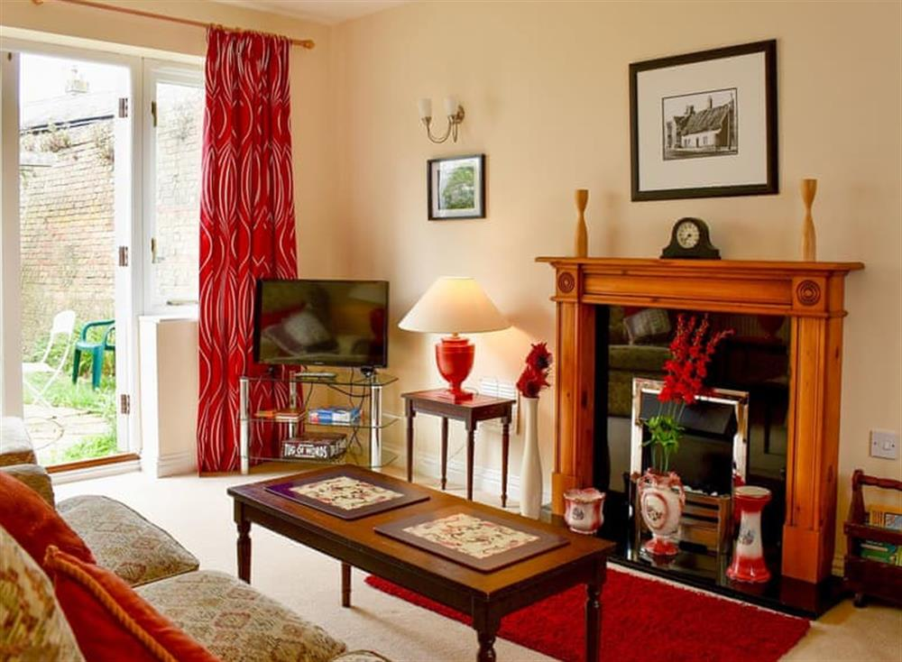 Living room at Red Lion Cottage in Chatteris, Cambridgeshire
