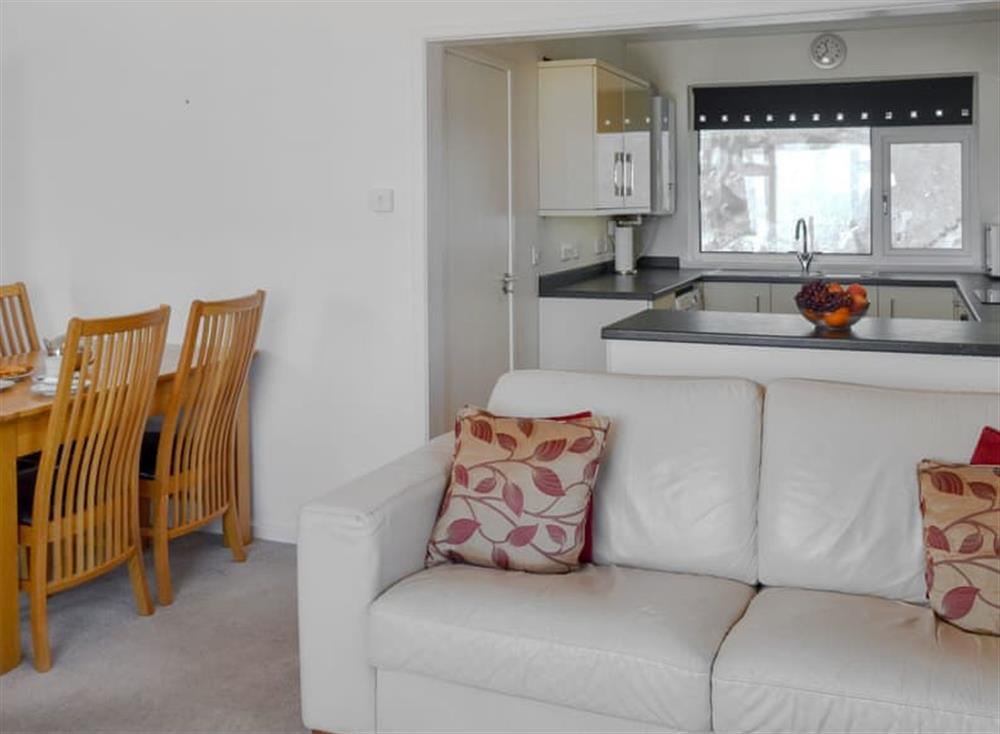 Comfortable open plan living space at Red Sails in Brixham, Devon