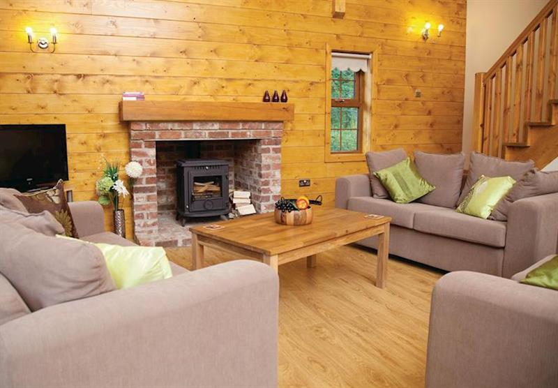 Lakeview Lodge at Redbrick Lodges in Nottinghamshire, Heart of England
