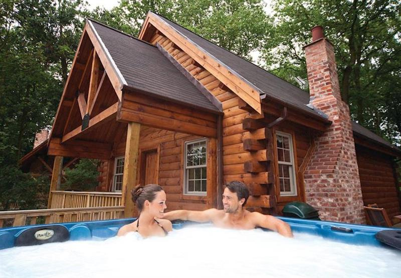 Moshannan Lodge at Redbrick Lodges in Nottinghamshire, Heart of England
