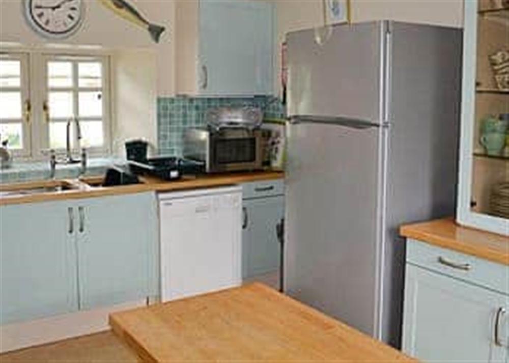 Kitchen/diner at Reid's Cottage in Lairg, Sutherland., Great Britain