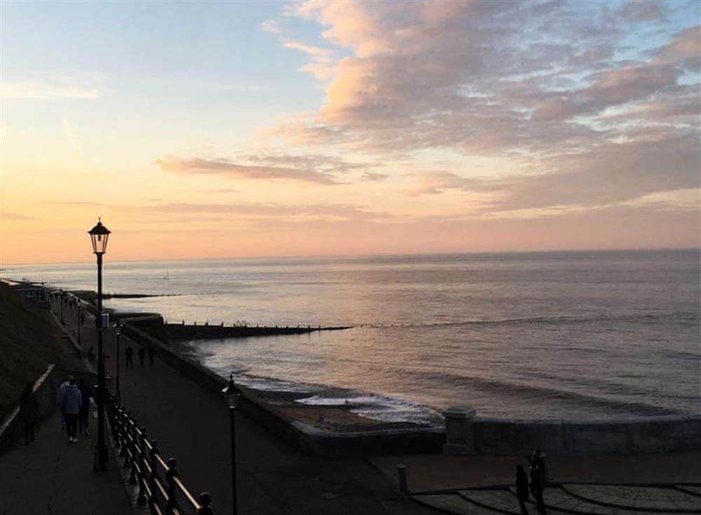 Beautiful Cromer at sunset at Remain in Light in Cromer, Norfolk