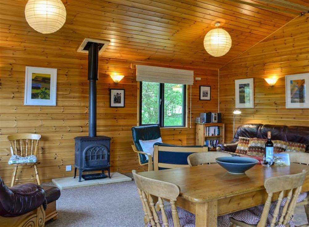 Wonderful open plan living space at Hawthorn Lodge,