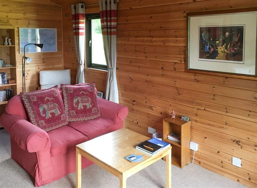 Welcoming living area at Willow Lodge,