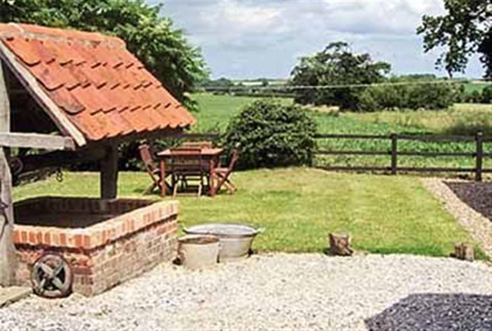 Garden at Restwell in Southrepps, Norfolk., Great Britain