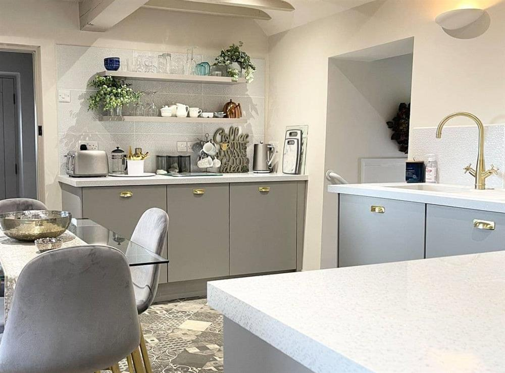 Kitchen/diner at Restwell in Southrepps, Norfolk., Great Britain