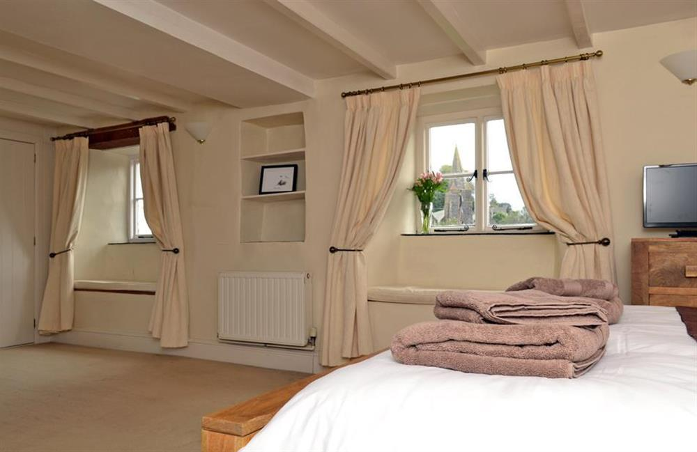 Another view of the master bedroom at Rill House, Slapton