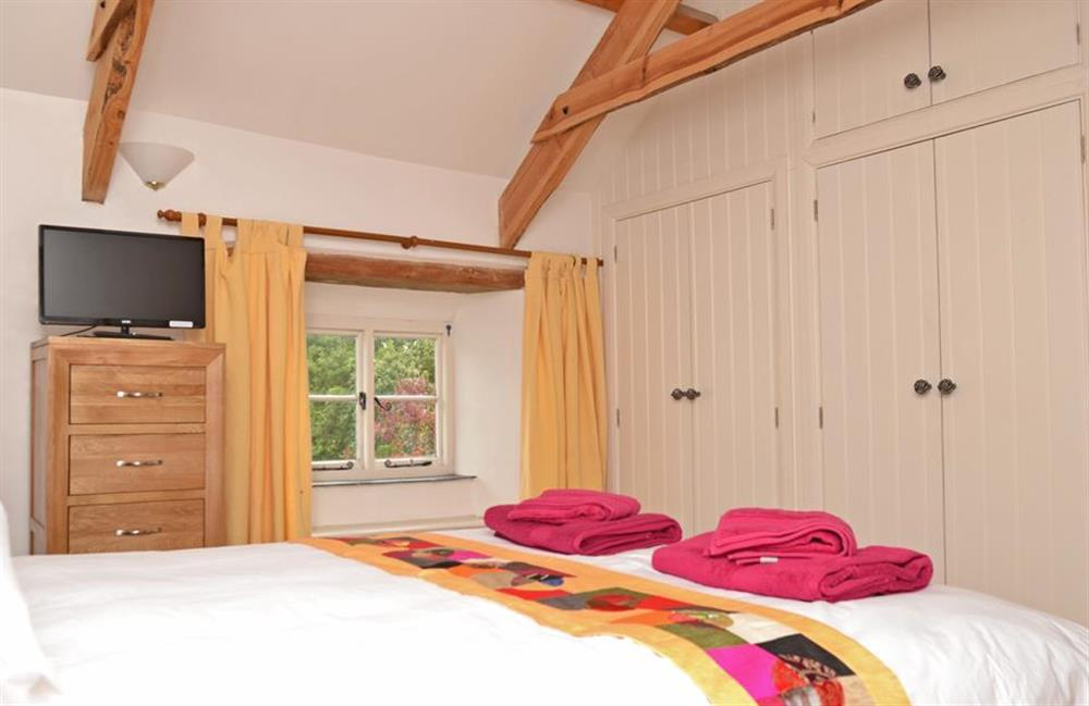 Another view of the second floor double room at Rill House, Slapton