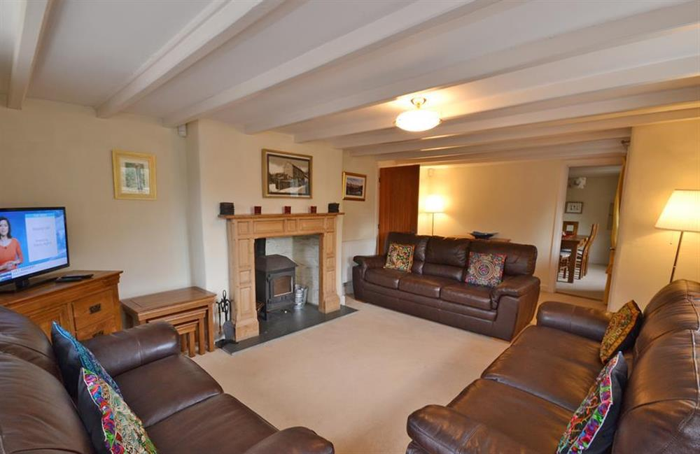 Another view of the sitting room at Rill House, Slapton