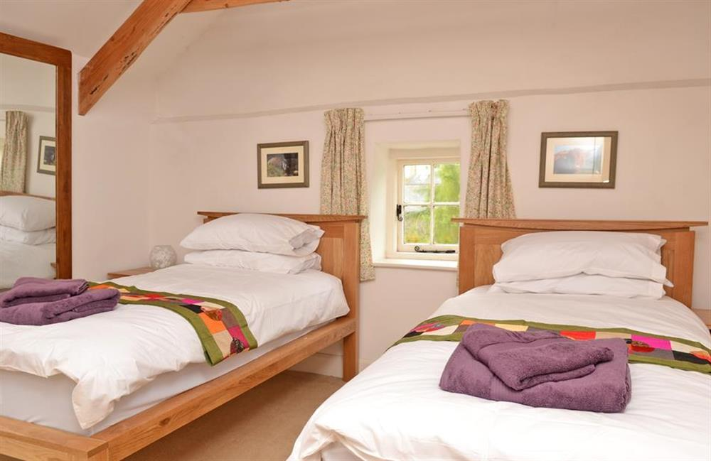 The twin room at Rill House, Slapton