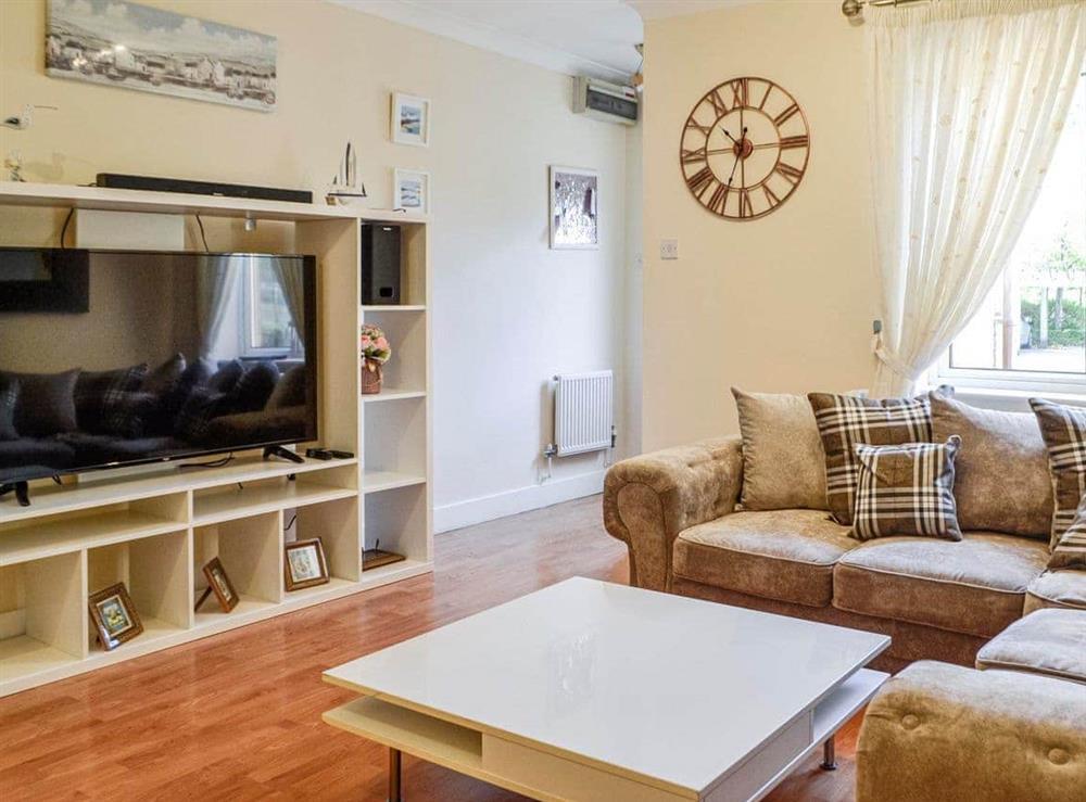 Living room at River Bay in Cardiff, South Glamorgan