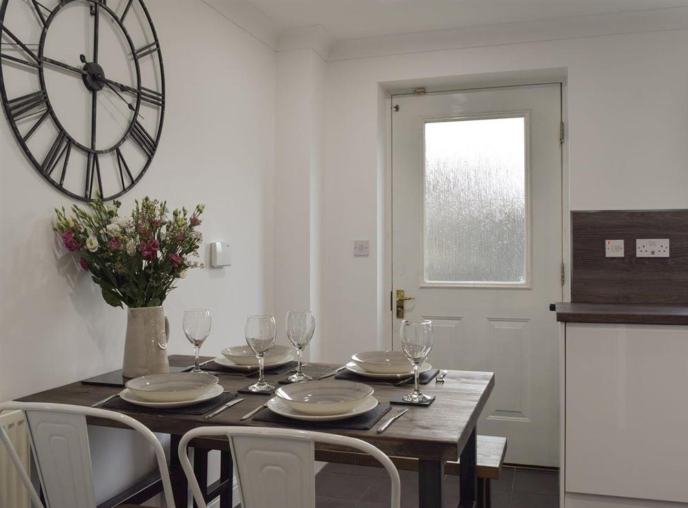 Dining area at River Quay in Gorleston-on-Sea, Norfolk