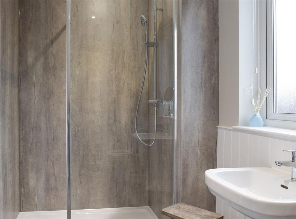 En-suite shower room at River Quay in Gorleston-on-Sea, Norfolk