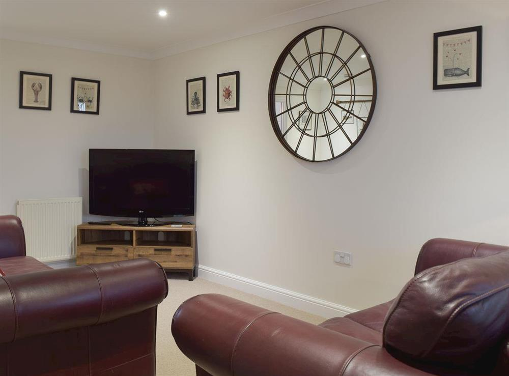 Living room with TV at River Quay in Gorleston-on-Sea, Norfolk