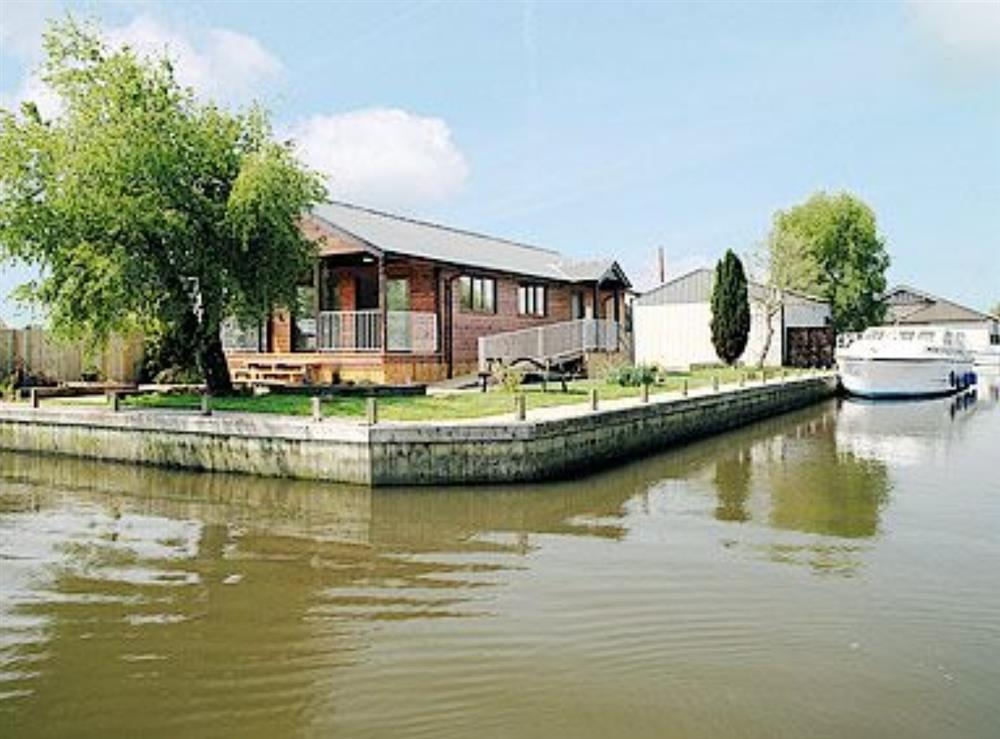 View at River Retreat in Brundall, Norfolk