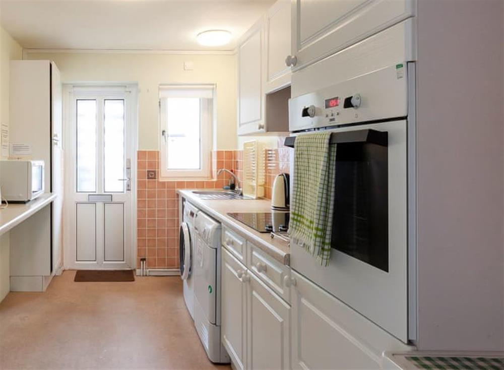 Modern well appointed kitchen at Rivers Reach in Dartmouth, Devon