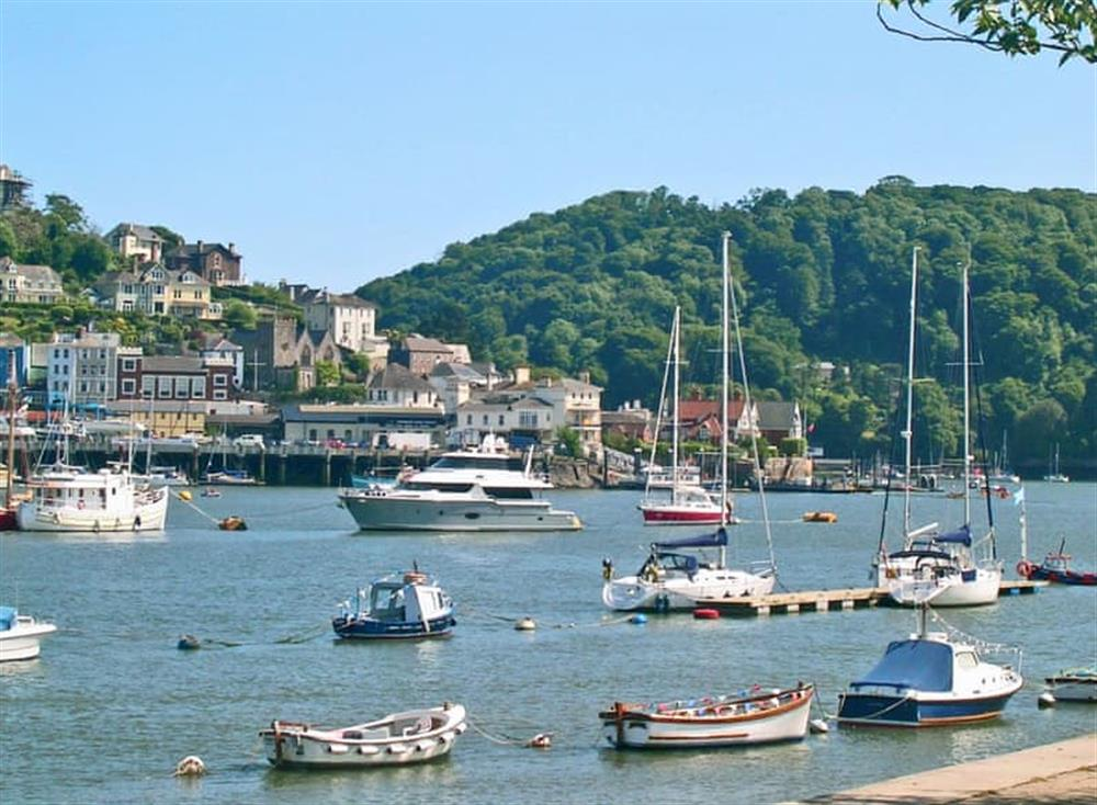 View from apt at Rivers Reach in Dartmouth, Devon
