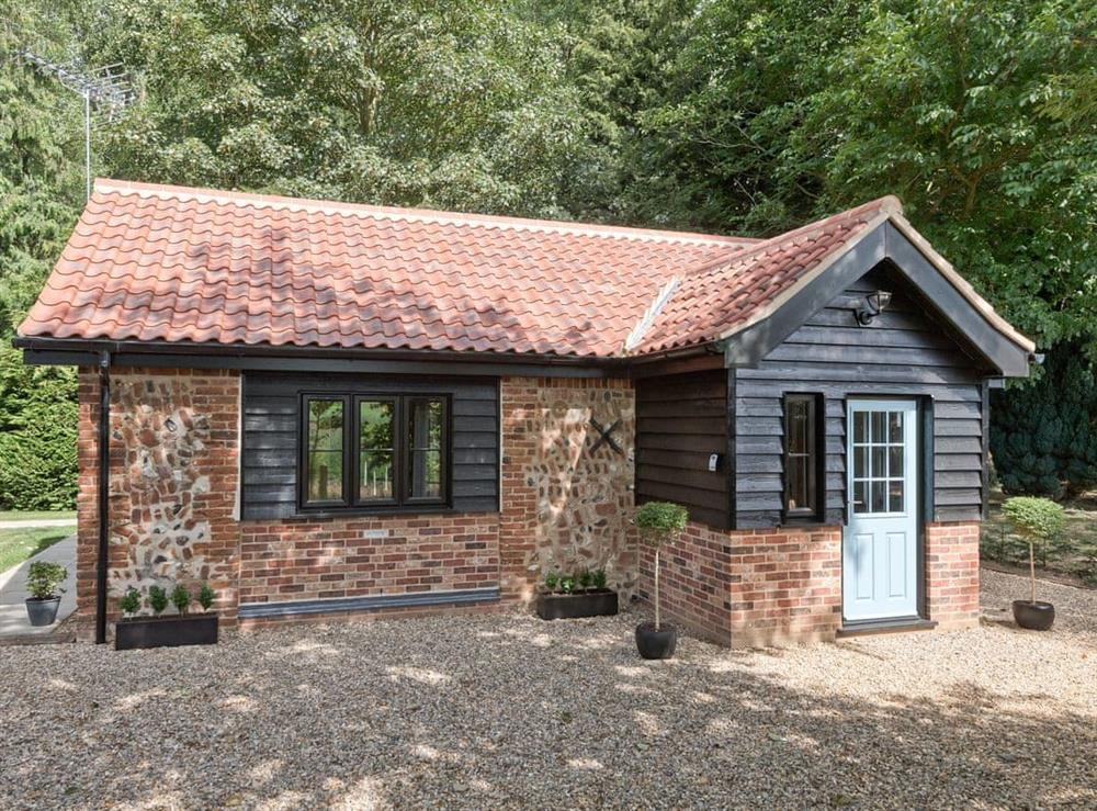 Detached, single-storey property, located completely off the beaten track, in a peaceful and magical location at Rivers Rest in Oxnead, near Norwich, Norfolk