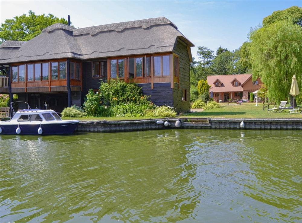 Beautifully located on the River Ant at Riversdale Cottage in Irstead, near Wroxham, Norfolk