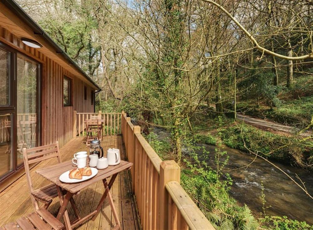 Balcony at Riverside at Gara Mill in , Slapton