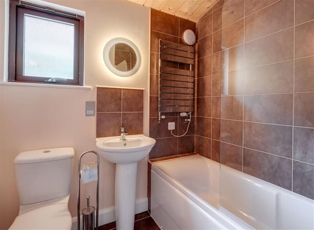 Bathroom at Riverside at Gara Mill in , Slapton