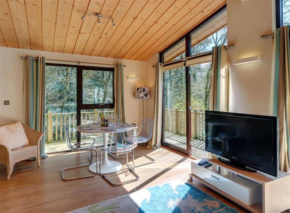 Living area at Riverside at Gara Mill in , Slapton