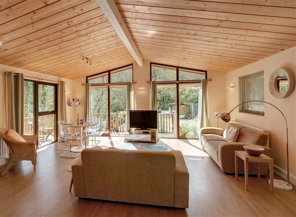 Open plan living space at Riverside at Gara Mill in , Slapton