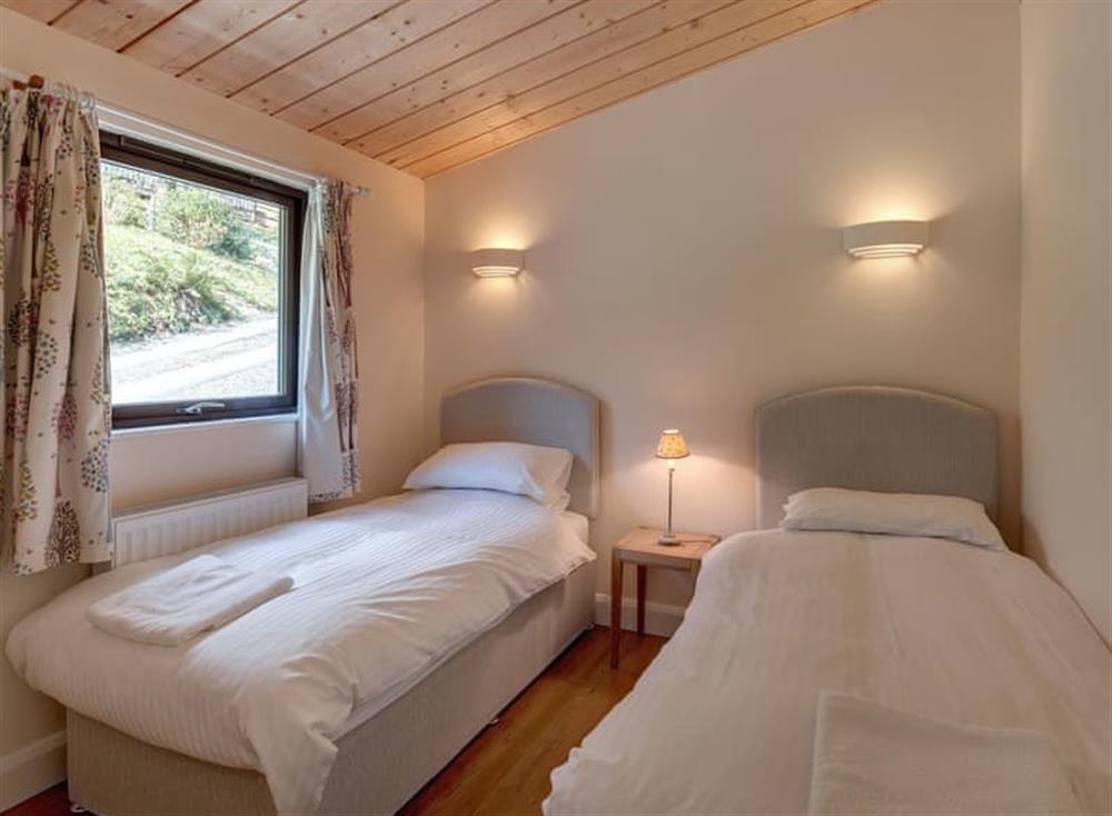 Twin bedroom at Riverside at Gara Mill in , Slapton
