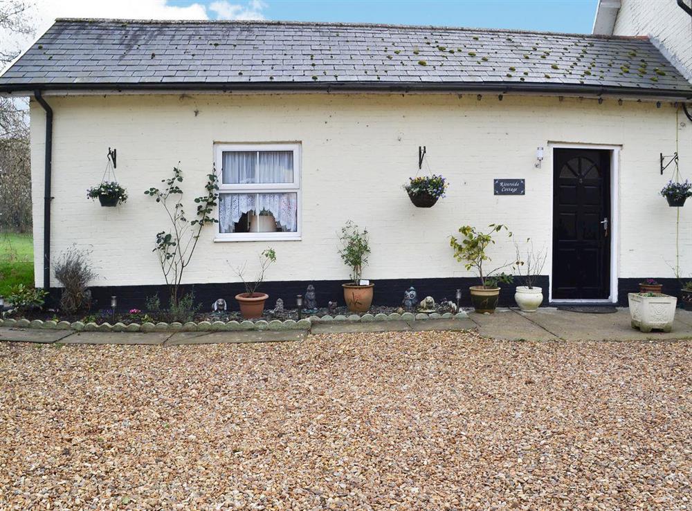 Delightful self-contained riverside annexe at Riverside Cottage in Hilgay, near Downham Market, Norfolk