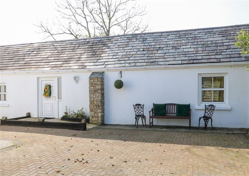 This is the setting of Riverside Cottage at Riverside Cottage, Meenadinna near Glenties
