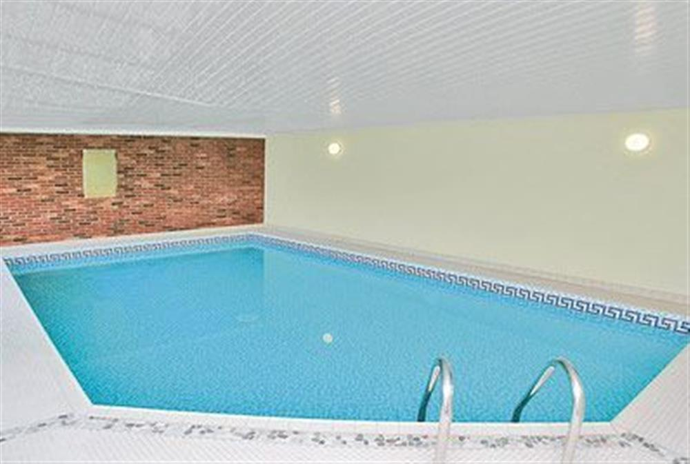 Swimming pool at Riverside Cottage in Old Costessey, Norfolk., Great Britain