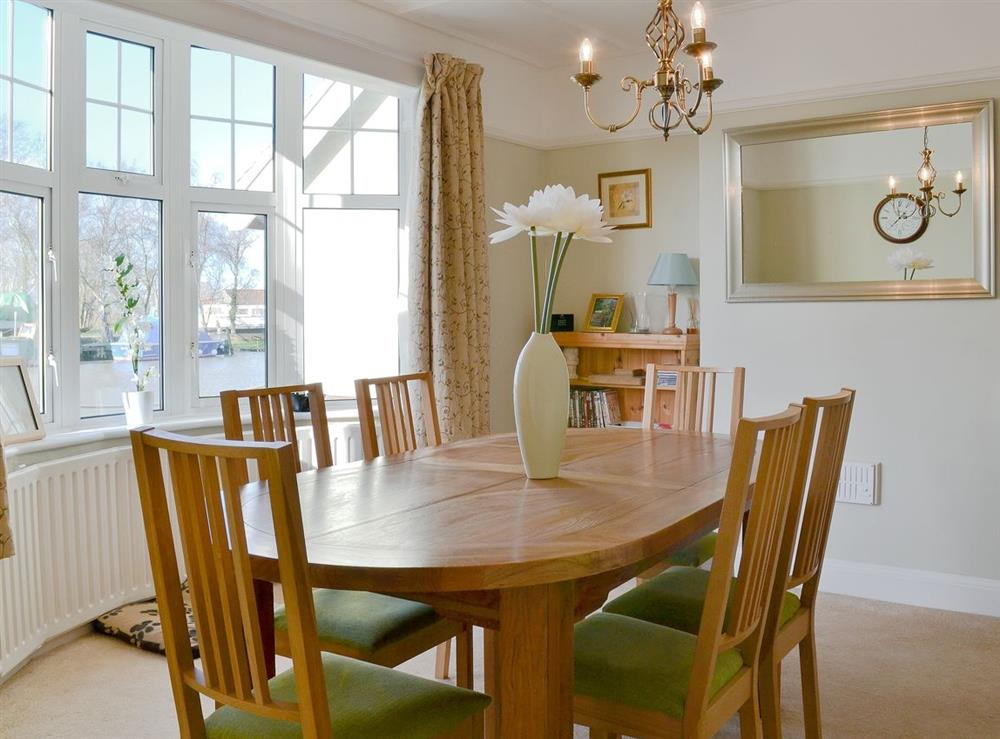 Dining Area at Riverside House in Beccles, Suffolk
