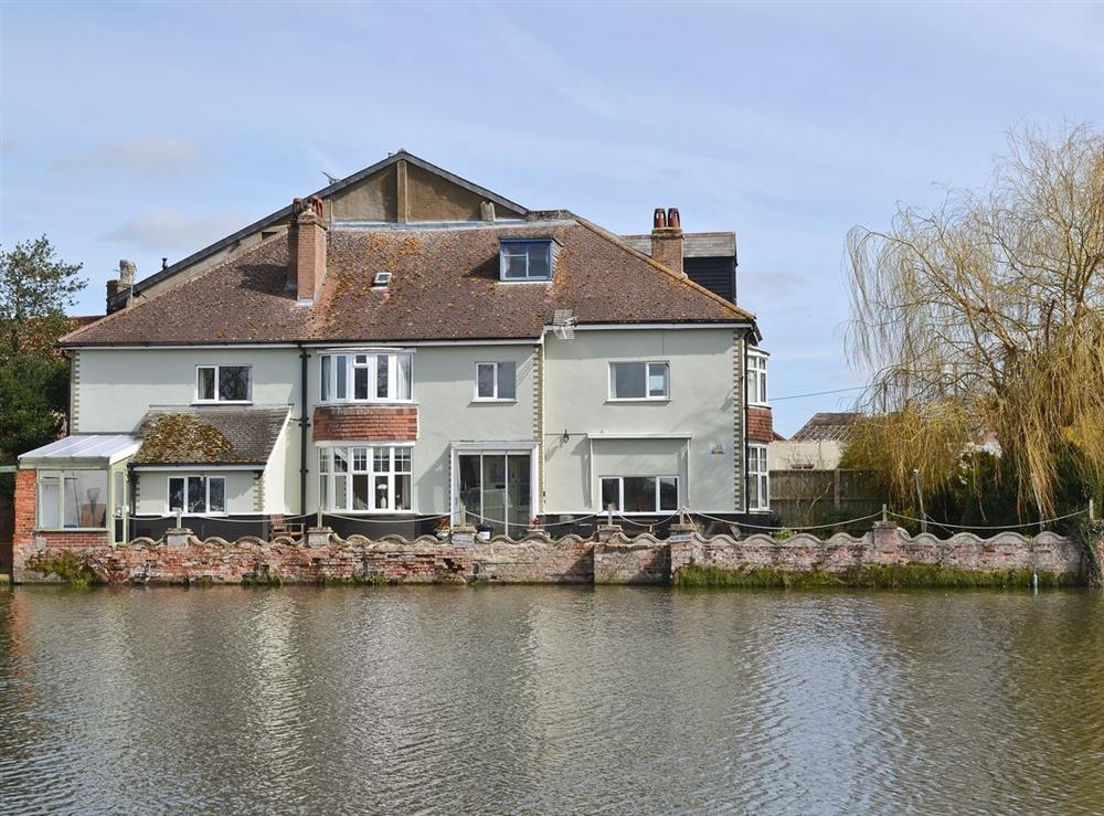 Exterior at Riverside House in Beccles, Suffolk