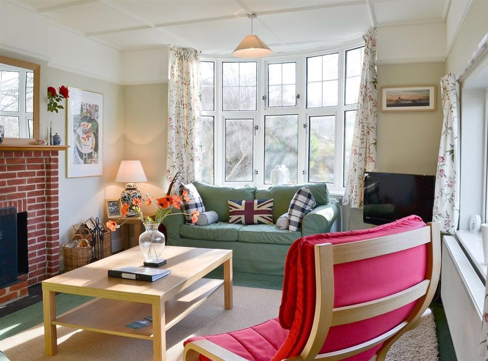 Living room at Riverside House in Beccles, Suffolk