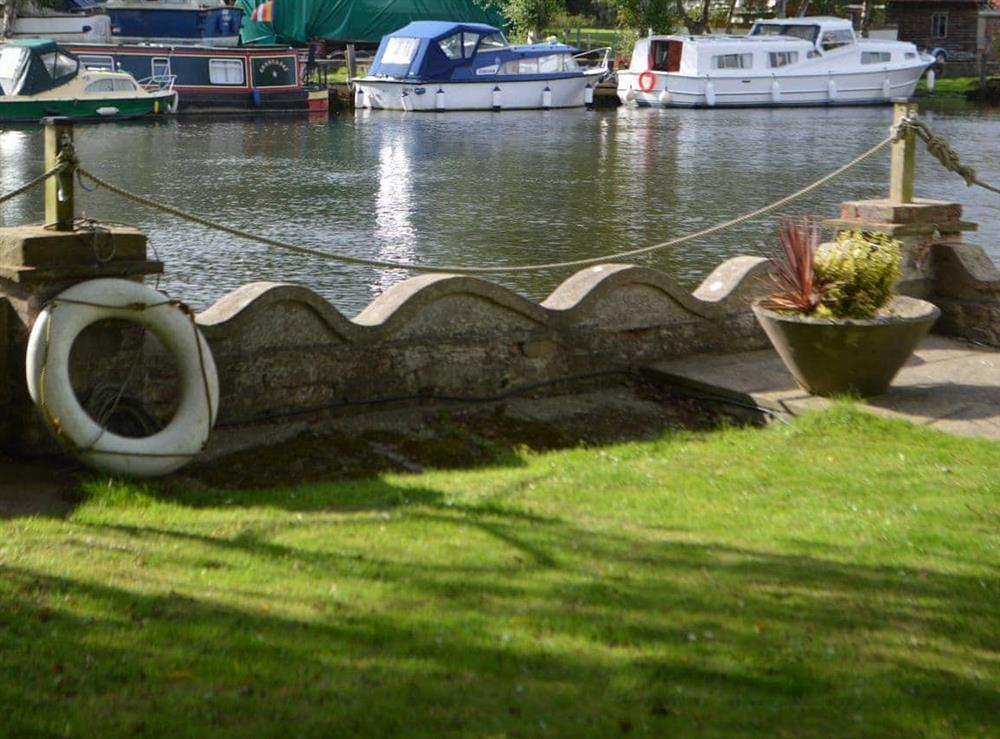 View at Riverside House in Beccles, Suffolk