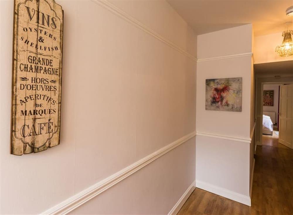 Hallway at Rockend in , Brixham