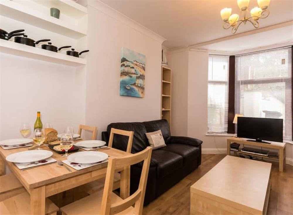 Open plan living space at Rockend in , Brixham