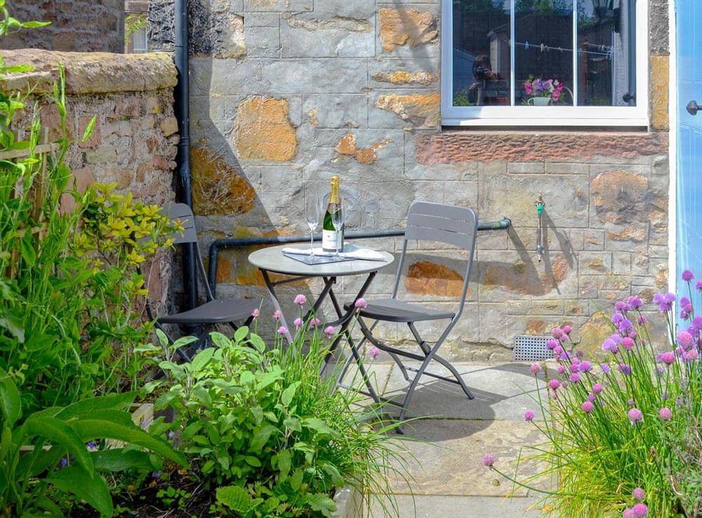 Charming sitting out area at Rockhill in Inverness, Highlands, Inverness-Shire