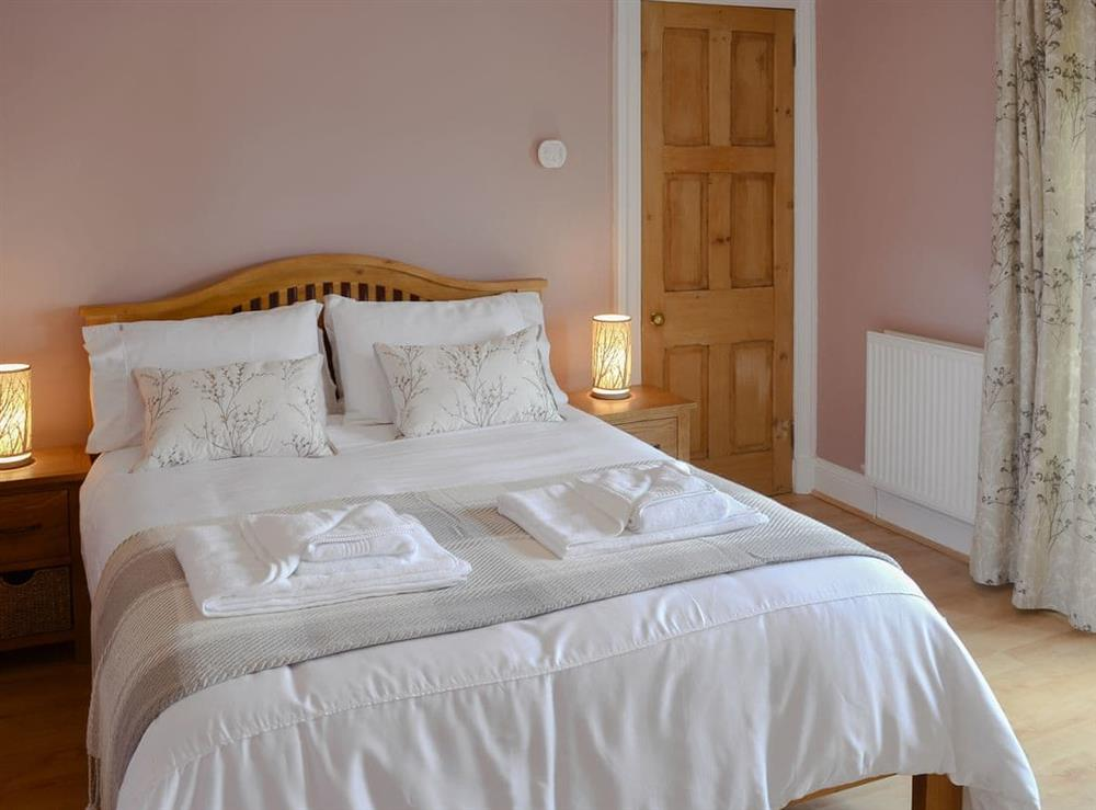 Comfortable double bedroom at Rockhill in Inverness, Highlands, Inverness-Shire