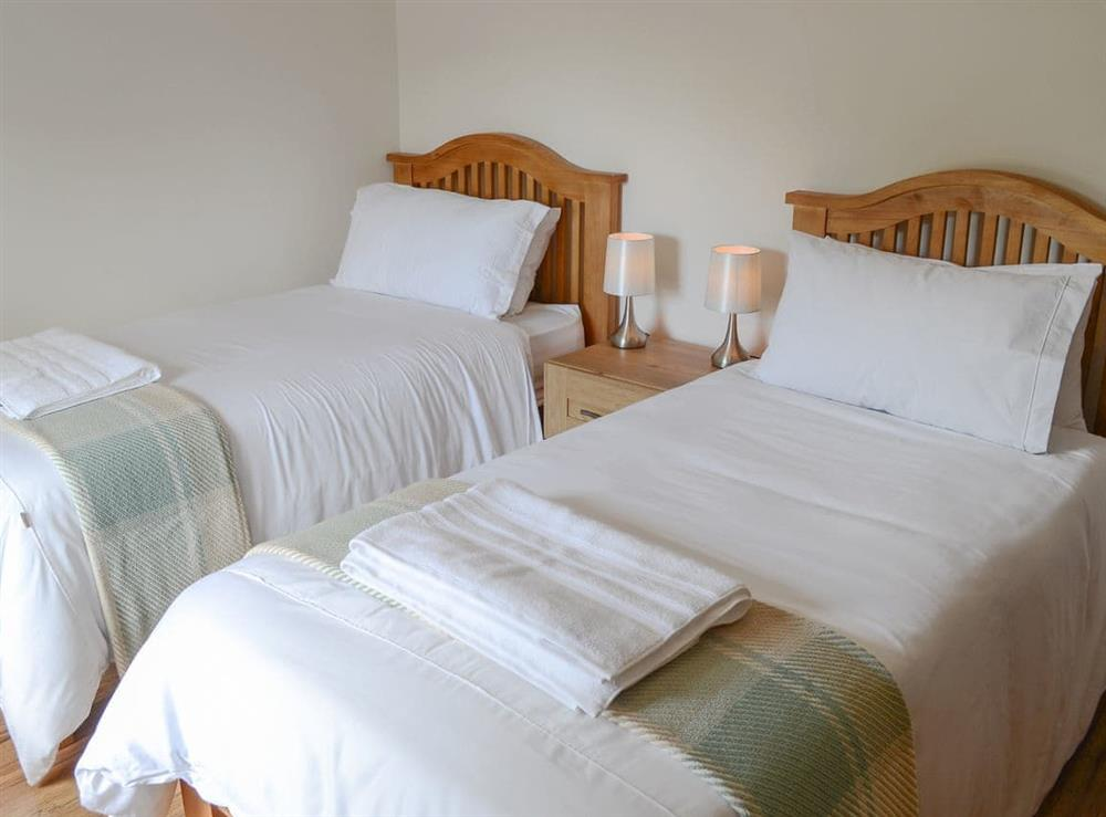 Comfy twin bedroom at Rockhill in Inverness, Highlands, Inverness-Shire